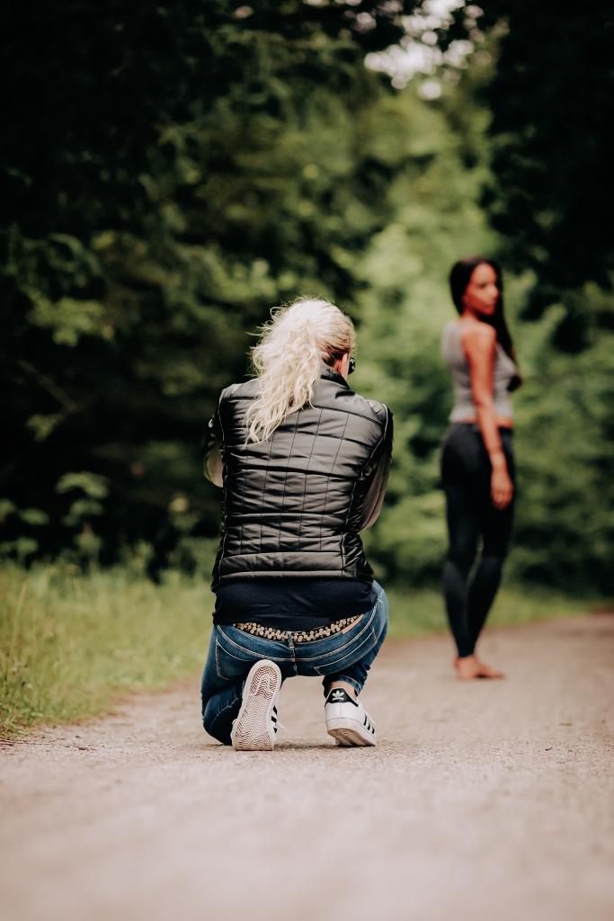 By Sharon fotografie fotografeert model